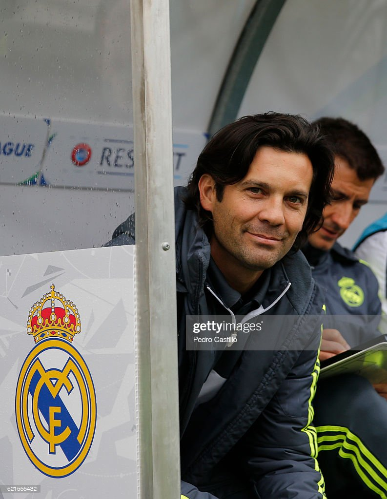 Real Madrid CF v Paris Saint Germain - UEFA Youth League Semi Final : News Photo