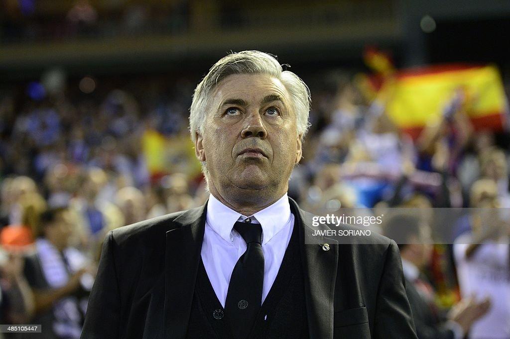 FBL-ESP-CUP-BARCELONA-REALMADRID-FINAL : News Photo