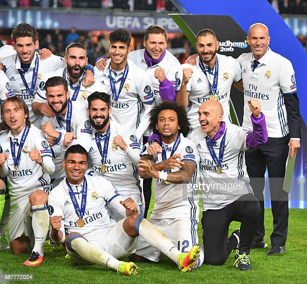 Uefa Super Cup: Uefa Super Cup 2016 Stock Photos And Pictures