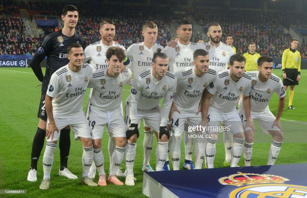 FBL-EUR-C1-PLZEN-REAL MADRID : News Photo
