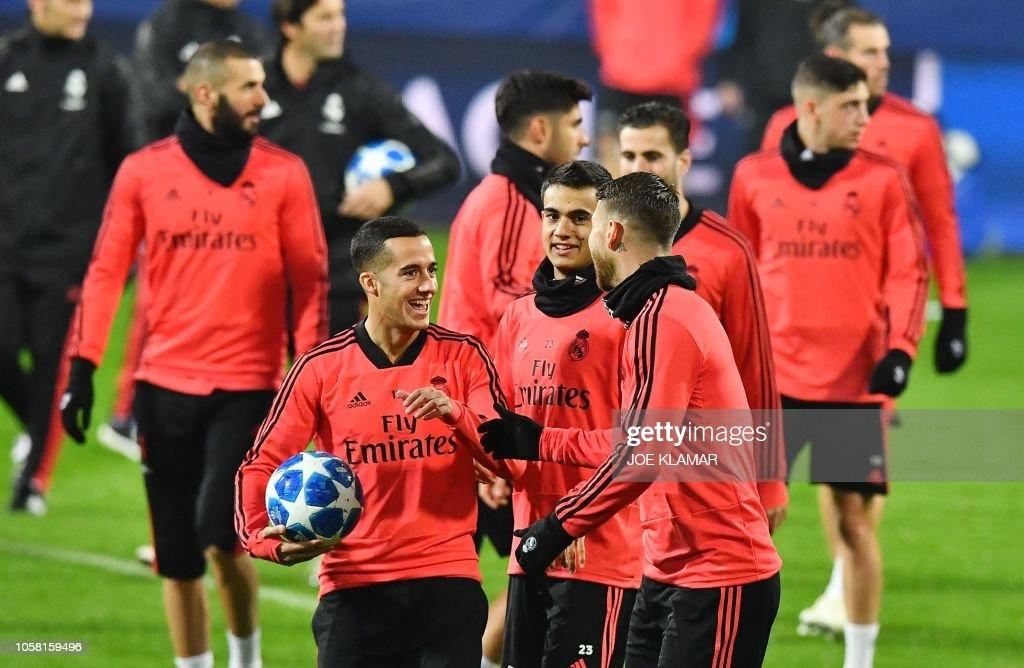 FBL-EUR-C1-REAL MADRID-TRAINING : News Photo
