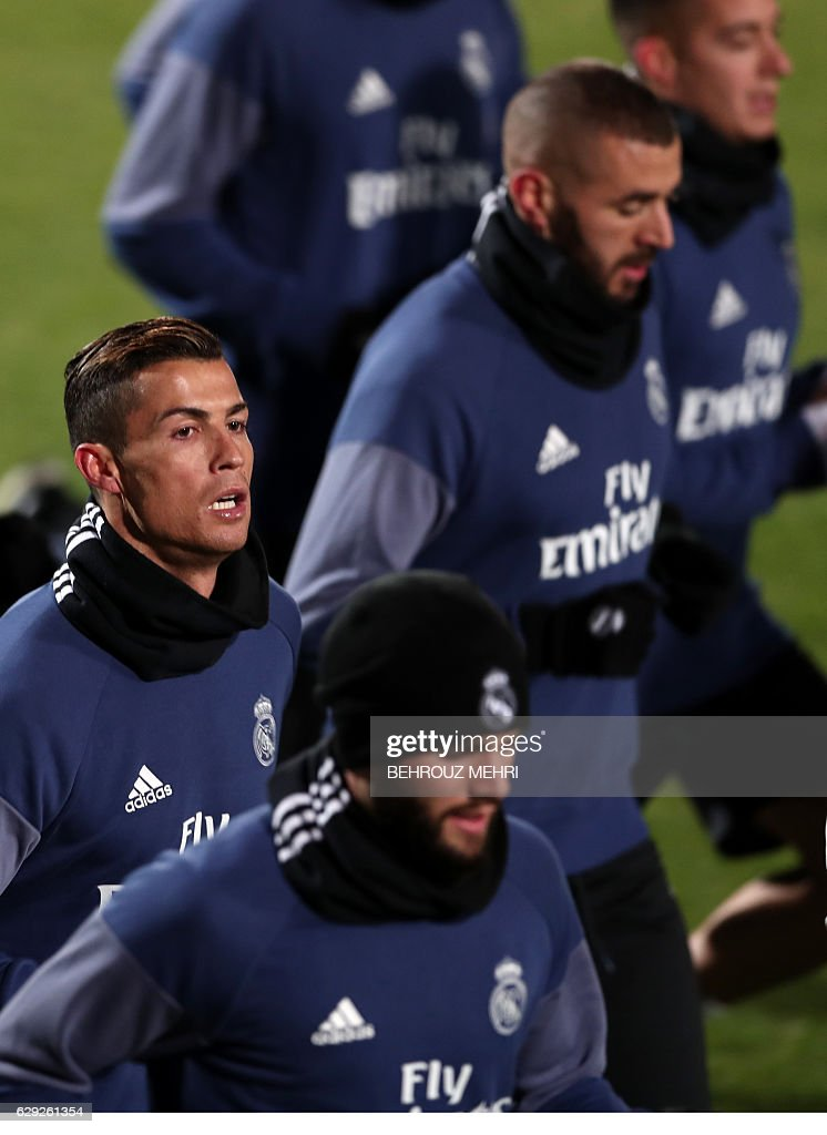 FBL-WCLUB-2016-REAL MADRID-TRAINING : Nachrichtenfoto