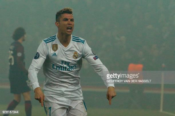 Real Madrid Vs Psg Stock Pictures Royalty Free Photos Images