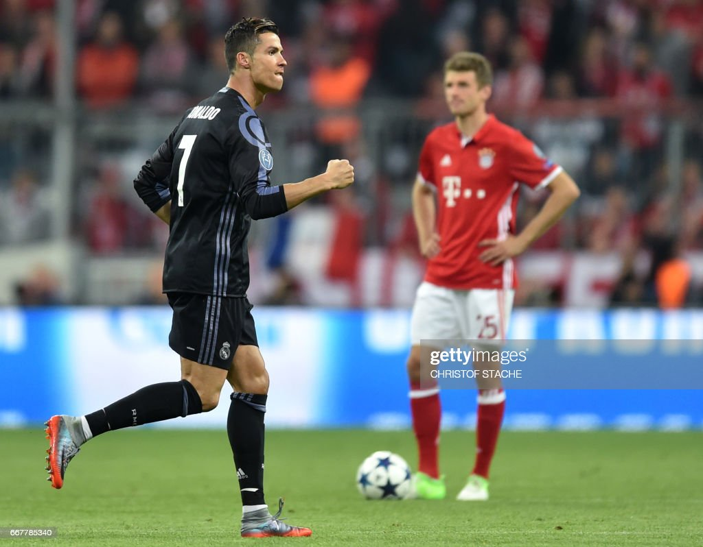 FC Bayern Muenchen v Real Madrid CF - UEFA Champions League Quarter Final: First Leg