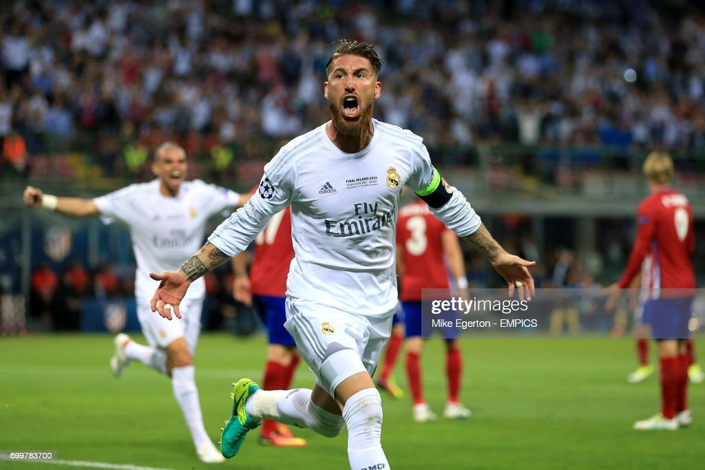 Real Madrid v Atletico Madrid - UEFA Champions League - Final - San Siro : News Photo