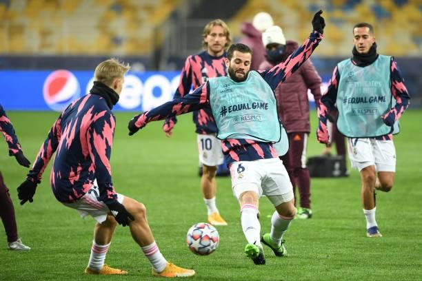 UKR: Shakhtar Donetsk v Real Madrid: Group B - UEFA Champions League