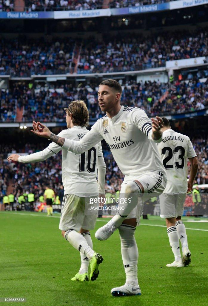 FBL-ESP-LIGA-REAL MADRID-VALLADOLID : News Photo