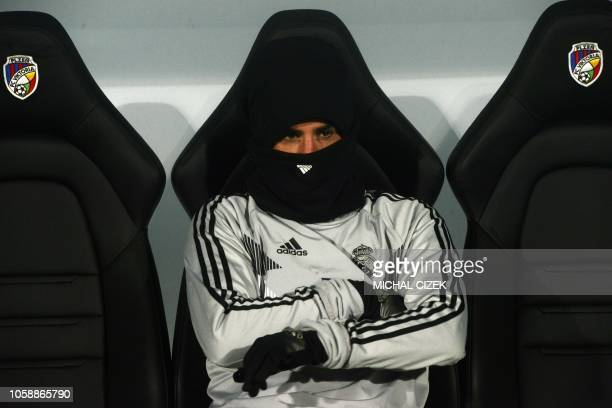 Real Madrid's Spanish midfielder Isco looks on during the UEFA Champions League group G football match Viktoria Plzen v Real Madrid in Plzen, Czech...