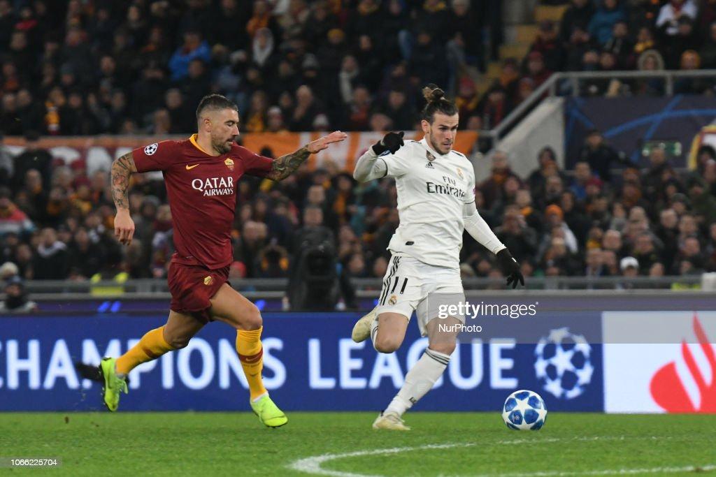 AS Roma v Real Madrid - UEFA Champions League Group G : News Photo
