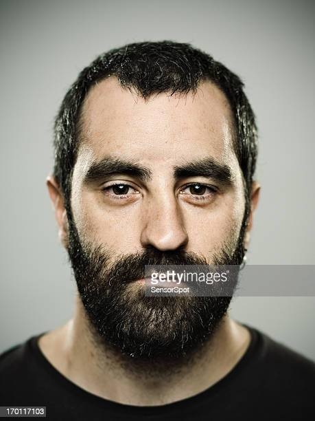 homme réel - mugshot photos et images de collection