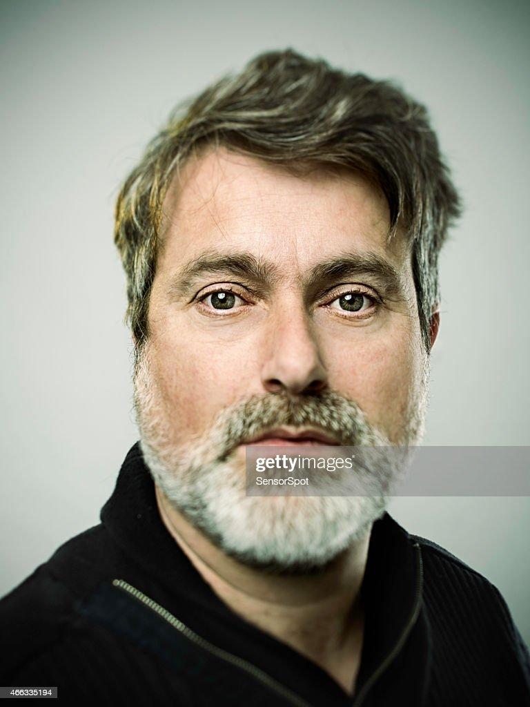 Real man portrait : Stockfoto