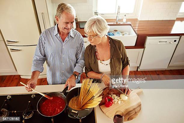 Real men cook for their wives