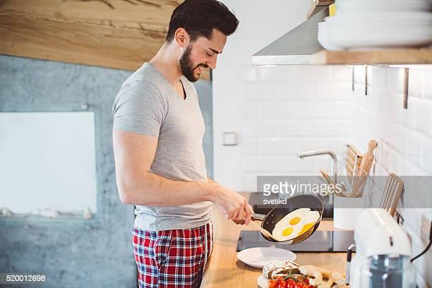 Real homens cozinhar!