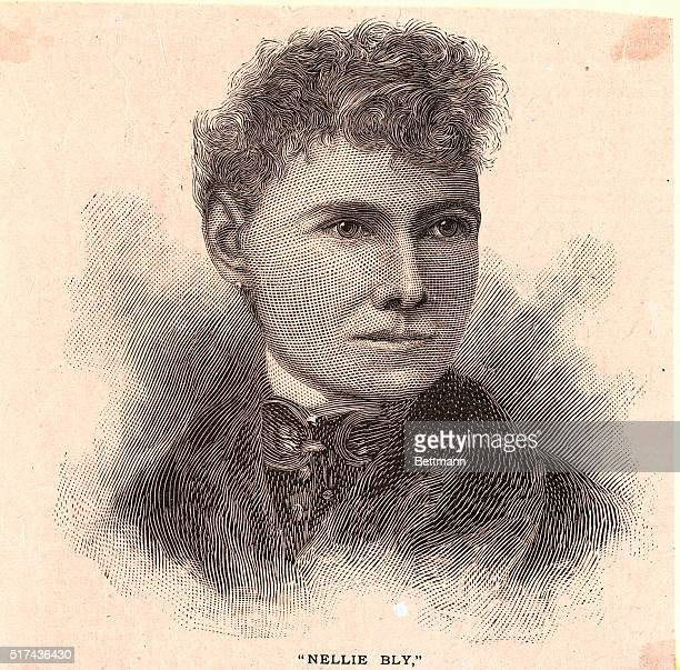 Real name was Elizabeth Cochrane She was a US journalist whose aroundtheworld race against a theoretical record brought her fame