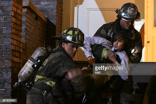 FIRE Real Never Waits Episode 222 Pictured Charlie Barnett as Peter Mills Taylor Kinney as Kelly Severide