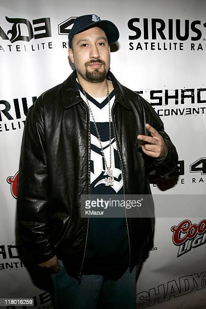 B Real of Cypress Hill during Shady National Convention Arrivals at Roseland in New York City New York United States