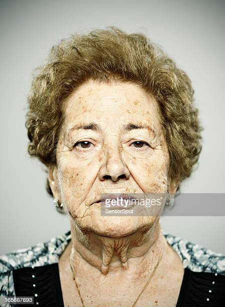 Real old woman