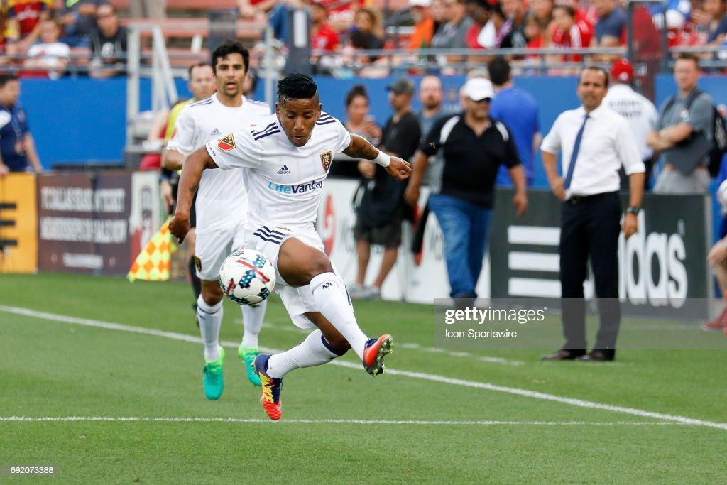 SOCCER: JUN 03 MLS - Real Salt Lake at FC Dallas : News Photo