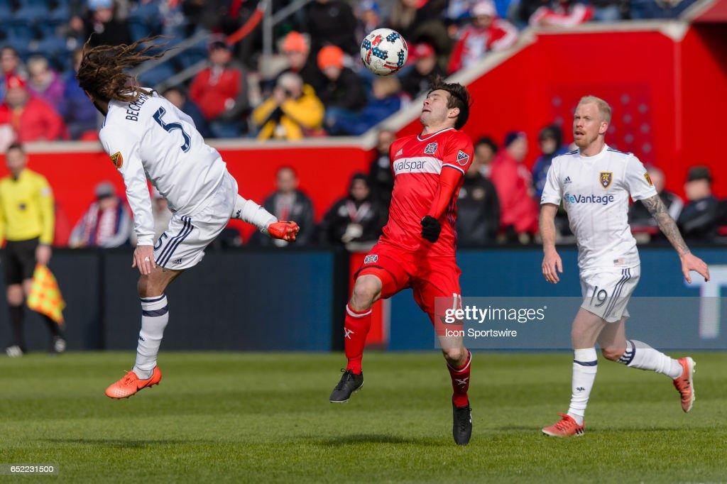 SOCCER: MAR 11 MLS - Real Salt Lake at Chicago Fire : News Photo
