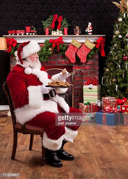 Real Santa considerar a comer'Cookies'