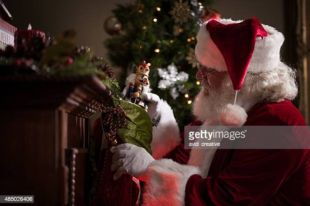 Real Santa Stuffing Stockings