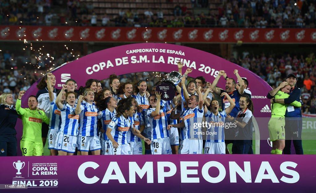Atletico Madrid Women v Real Sociedad Women - Copa de la Reina de Futbol : News Photo