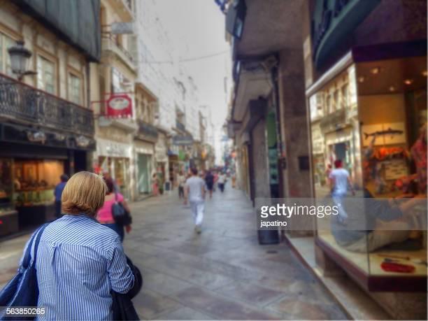 Real street of Corunna