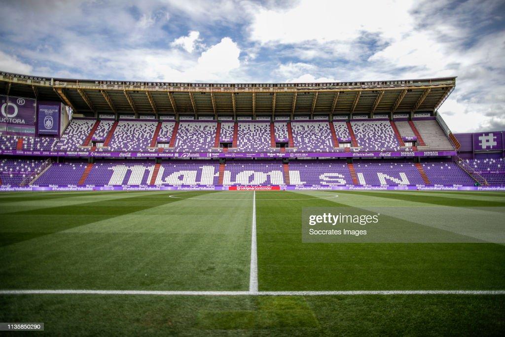 Real Valladolid v Sevilla - La Liga Santander : ニュース写真