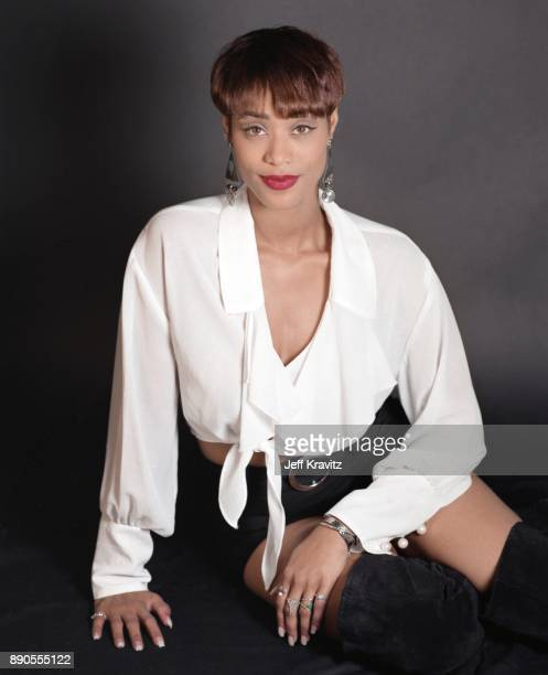 MTV 'Real World' star Tami Roman poses for a portrait on January 18 1994 in Los Angeles California