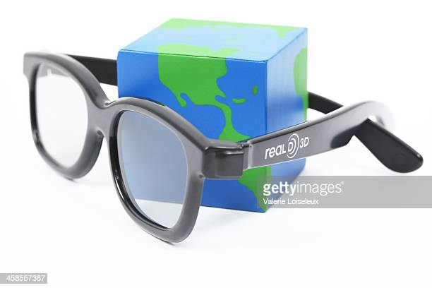 RealD 3D glasses with world square