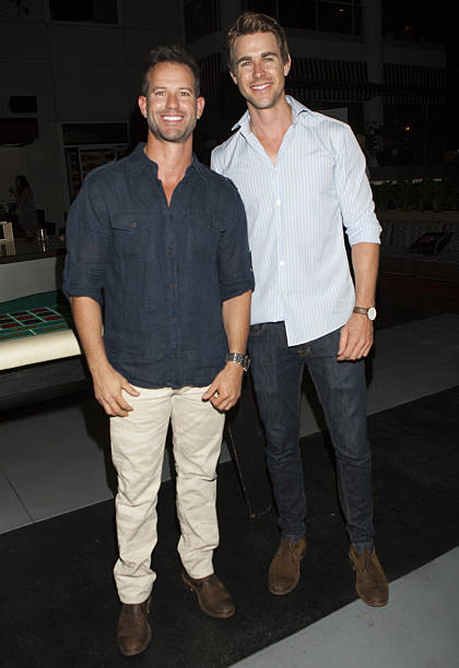 Reality Actors Kiptyn Locke And Robert Graham Attend At MyVegas Las Vegas Extravaganza Hosted By Cast
