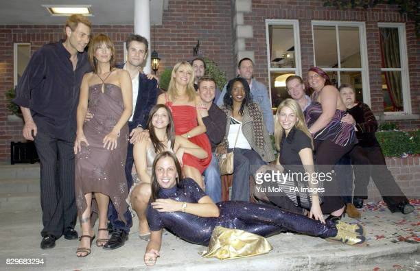 Reality contestant's Uri Geller Catalina Guirado Richard Bacon Jade Goody Tess Daly Rik Waller Craig Phillips Josie D'Arby Nick Bateman Sarah Kozer...