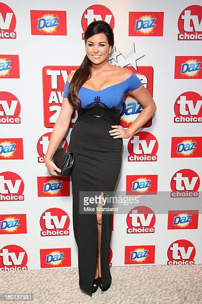 Reality Jess Wright attends the TV Choice Awards 2013 at The Dorchester on September 9 2013 in London England