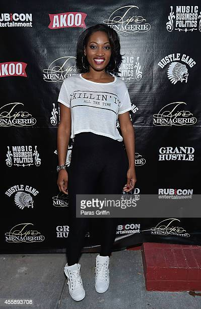 "Reality personality Erica Dixon attends ""Festa De Rei - Feast of Kings"" at Little Italia on September 21, 2014 in Atlanta, Georgia."