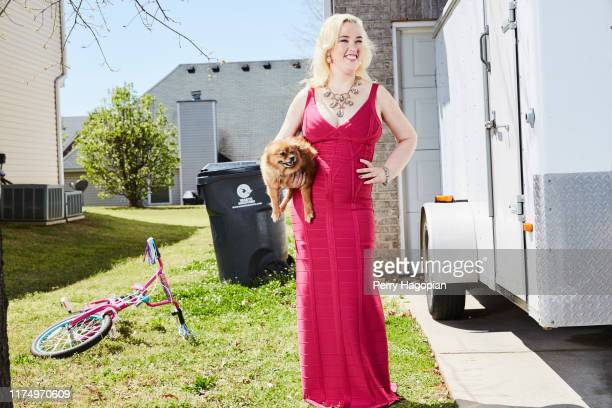 TV reality personality June Shannon aka Mama June is photographed for People Magazine on April 1 2017 in Georgia