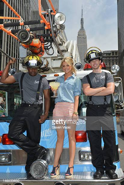 Reality star Ali Fedotowsky kicks off Sauza Tequila's Regional Rescue Tour at Lucy's Mexican Cantina on June 18 2012 in New York City
