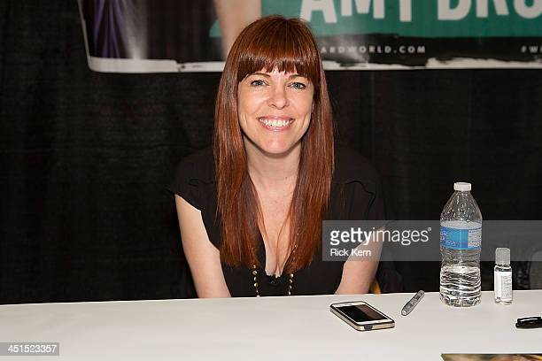 Reality star and paranormal investigator Amy Bruni attends day one of the Wizard World Austin Comic Con at the Austin Convention Center on November...