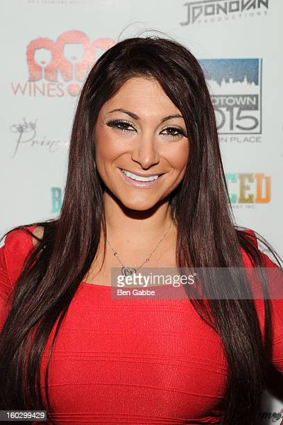 Reality Star Deena Cortese attends 'Jerseylicious' Season 5 Premiere Party at Midtown Sutton on January 28 2013 in New York City