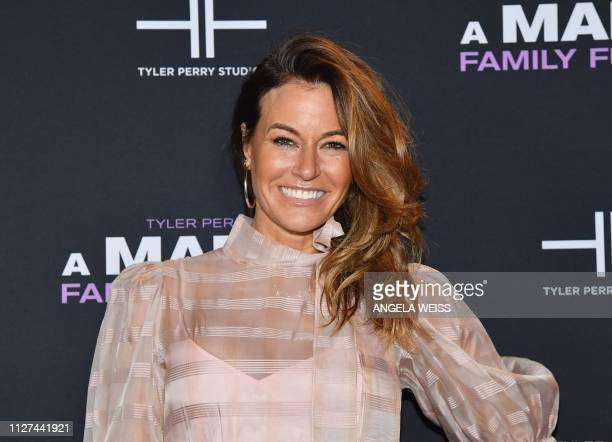TV reality star Kelly Killoren Bensimon attends the NY special screening for Tyler Perry's 'A Madea Family Funeral' at SVA Theater on February 25...