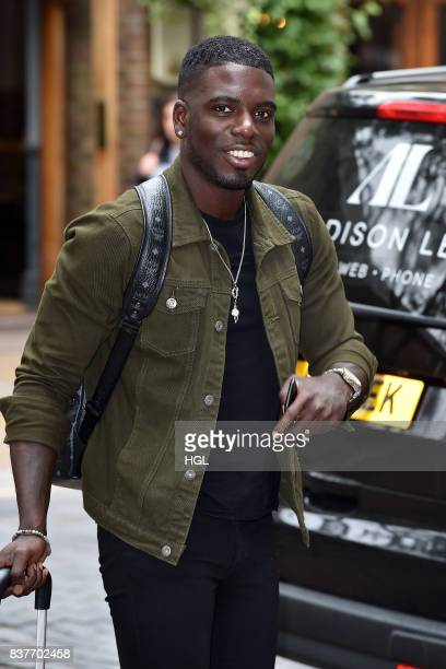 Reality Star Marcel Somerville seen at the ITV Studios on August 23 2017 in London England