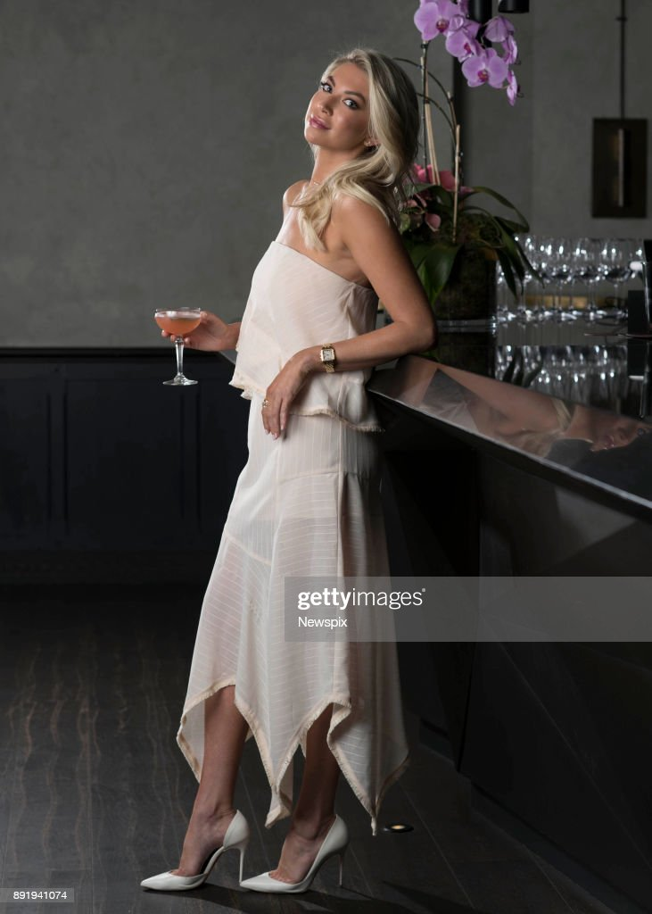 SYDNEY, NSW - (EUROPE AND AUSTRALASIA OUT) Reality star Stassi Schroeder from 'Vanderpump Rules' poses during a photo shoot at the QT Hotel in Sydney, New South Wales.