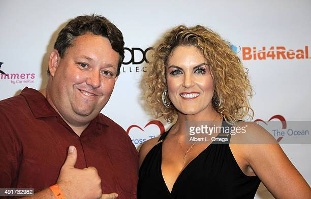 Reality stars Casey Nezhoda and Renee Nezhoda at the Celebrity Poker Tournament To Benefit Love Across The Ocean held at Commerce Casino on October...