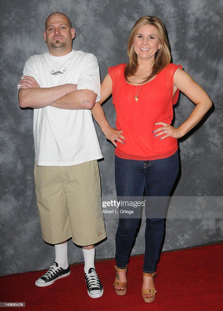 Reality Stars Jarod Schultz And Brandi Pante Pare In Jarrod S 2nd Year