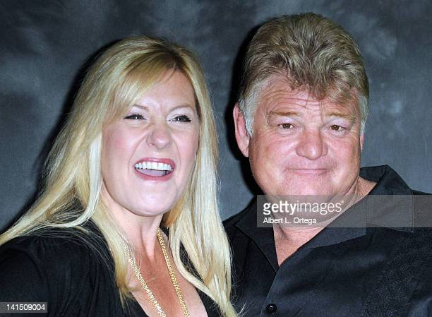 Reality stars Laura Dotson and Dan Dotson participate in Jarrod Schultz Brandi Schultz's 2nd Year Of Storage Wars Party held at Now Then Thrift Store...