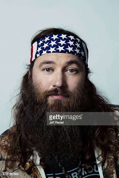 Reality television personalities from Duck Dynasty Willie Robertson is photographed for GQ Magazine on October 24 2013 in West Monroe Louisiana
