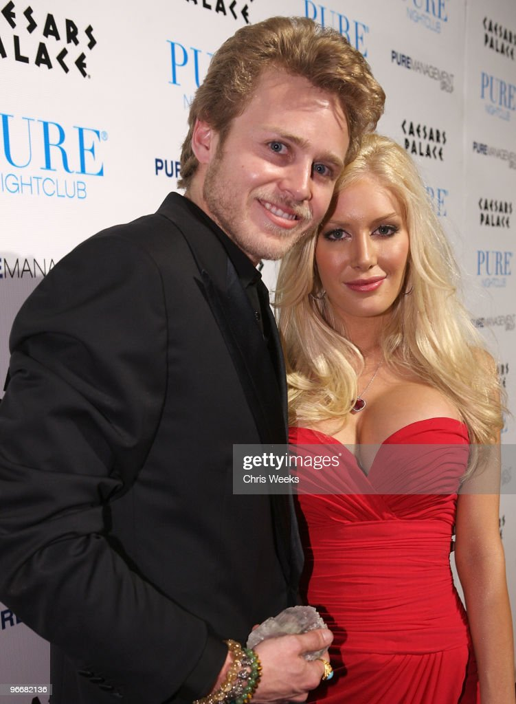Spencer Pratt And Heidi Montag Host A Night At Pure Nightclub