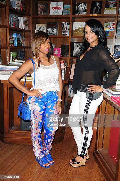 Reality television personality Antonia Carter and Mia Dumas attend their daughters Reginae Carter daughter of rapper Lil' Wayne and Bria Williams...