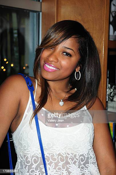 Reality television personality Antonia Carter attend her daughter Reginae Carter daughter of rapper Lil' Wayne book signing 'Paparazzi Princesses' at...