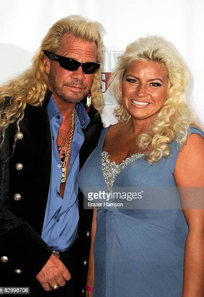 """Reality television personality Duane """"Dog"""" Chapman and wife Beth Chapman arrive at the Fox Reality Channel Really Awards at the Avalon Hollywood club..."""