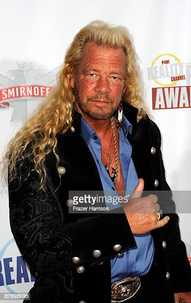 Reality television personality Duane Dog Chapman arrives at the Fox Reality Channel Really Awards at the Avalon Hollywood club September 24 2008 in...